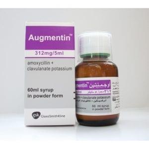 AUGMENTIN 312 MG