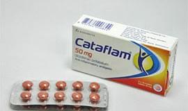 كتافلام اقراص مسكن وخافض للحرارة ومضاد للروماتيزم Cataflam tablets