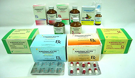 Amoxicillin Tablets Capsules Syrup
