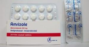 أمريزول أقراص شراب أقماع مضاد للبكتيريا Amrizole