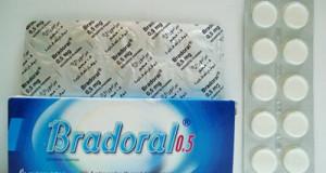 برادورال أقراص للاستحلاب مطهر للفم والحلق Bradoral Tablets