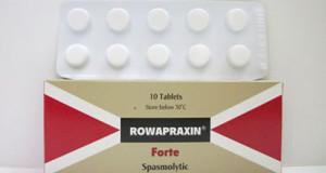 روابراكسين أقراص وأقماع لعلاج تقلصات المعدة Rowapraxin Tablets