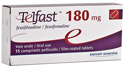 Telfast Tablets 180 mg