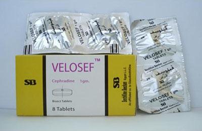 Velosef tablets