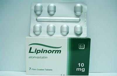 ليبينورم أقراص لتنظيم الدهون بالدم Lipinorm Tablets