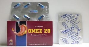 أوميز كبسولات لعلاج الحموضة وقرحة المعدة Omez Capsules