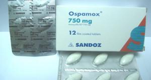 أوسباموكس أقراص لعلاج الالتهابات البكتيرية Ospamox Tablets