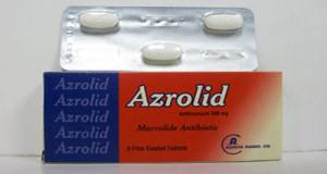 أزروليد أقراص مضاد حيوي واسع المجال Azrolid Tablets
