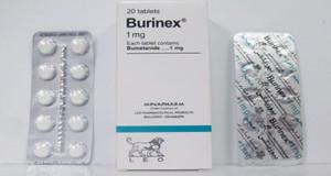 بيورينكس أقراص لضغط الدم المرتفع ومدر للبول Burinex Tablets
