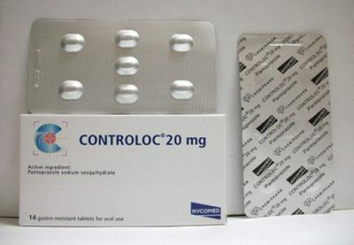 كونترولوك أقراص لعلاج قرحة المعدة Controloc Tablets
