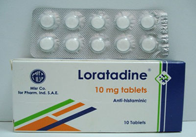 لوراتادين أقراص شراب لعلاج الحساسية والالتهابات Loratadine Tablets