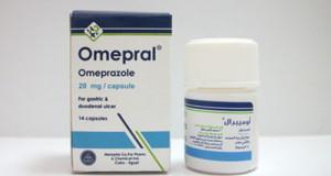 أميبرال أقراص لعلاج الحموضة وقرحة المعدة Omepral Tablets