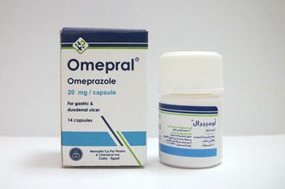 أميبرال كبسولات لعلاج الحموضة وقرحة المعدة Omepral Capsules