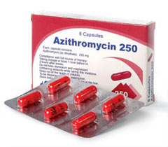ازيتروميسين azithromycin