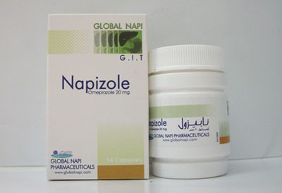 نابيزول كبسول لعلاج الحموضة وقرحة المعدة Napizole Capsules