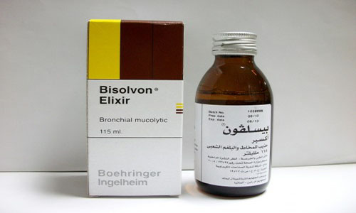 بيسلفون شراب مذيب للبلغم Bisolvon Syrup