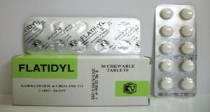 فلاتيديل أقراص لعلاج سوء الهضم والإنتفاخ Flatidyl Tablets