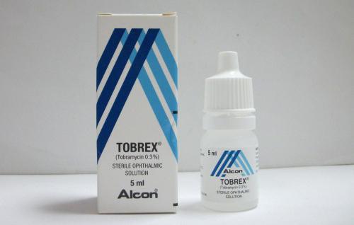 توبريكس قطرة مضاد لالتهابات العين Tobrex Drops
