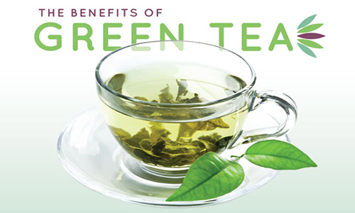 ما هى فوائد الشاى الأخضر ؟