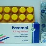 بارامول أقراص شراب مسكن للآلام وخافض للحرارة Paramol Tablets