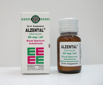 الزنتال شراب Alzental Suspension