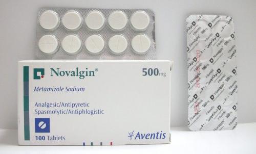 نوفالجين أقراص لعلاج درجة الحرارة المرتفعة Novalgin Tablets