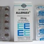 الليرجيكس أقراص كريم لعلاج الحساسية Allergex Tablets