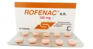 روفيناك أقراص مسكن للألام ومضاد للروماتيزم Rofenac Tablets