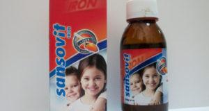 سانسوفيت شراب لعلاج نقص الفيتامينات والكالسيوم Sansovit Syrup