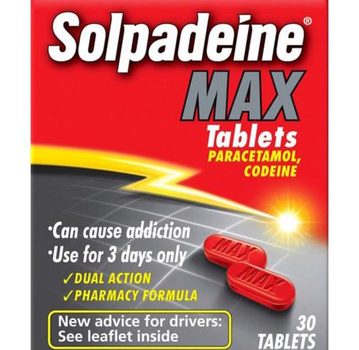 سولبادين أقراص مسكن للالم وخافض للحرارة Solpadine Tablets