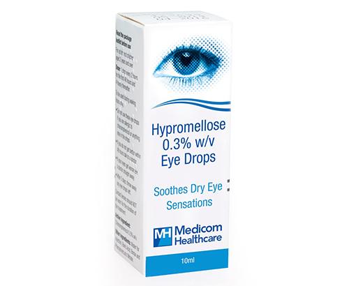 هيبروميلوز قطرة لعلاج حرقان وتهيج العين Hypromellose Eye Drops