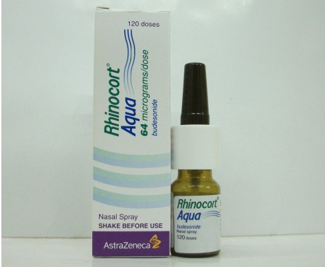 رينوكورت بخاخ أنفى لعلاج الجيوب الأنفية Rhinocort Nasal Spray