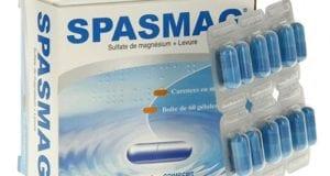 سبازماج كبسولات لعلاج حالات نقص المغنسيوم Spasmag Capsules