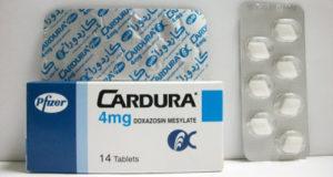 كاردورا أقراص لعلاج ضغط الدم المرتفع Cardura Tablets