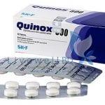 كينوكس أقراص مضاد حيوى واسع المجال Quinox Tablets