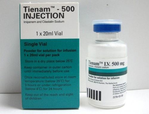 تينام حقن مضاد حيوى واسع المجال Tienam Injection