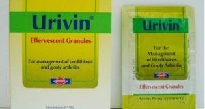 يوريفين فوار لعلاج زيادة الاملاح والنقرس Urivin Eff