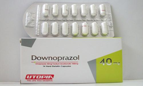داونوبرازول كبسولات لعلاج الحموضة وقرحة المعدة Downoprazol Capsules