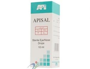 أبيسال قطرة لتخفيف جفاف العين والانف Apisal Drop
