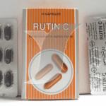 روتين سى كبسولات لعلاج ضعف الشعيرات الدموية Rutin C Capsules