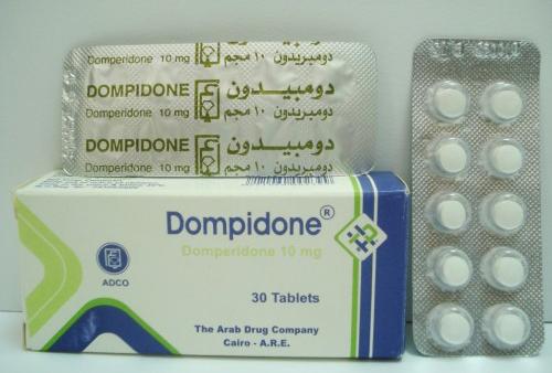 دومبيدون أقراص شراب مضاد للقئ ومنظم لحركة الامعاء Dompidone Tablets