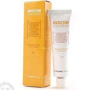 أفوكوم كريم اعلاج الالتهابات الجلدية والحكة Avocom Cream