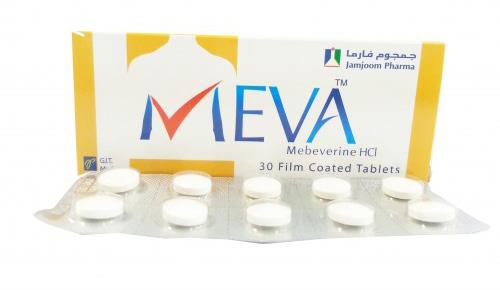 ميفا أقراص لعلاج تشنجات القولون العصبى Meva Tablets