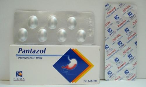 بانتازول أقراص لعلاج قرحة المعدة والاثنى عشر Pantazol Tablets