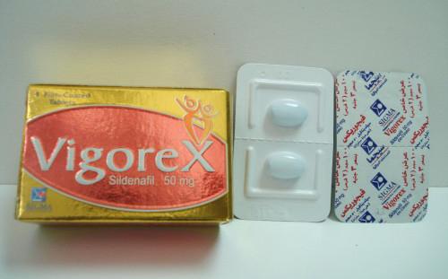 فيجوركس أقراص لعلاج ضعف الانتصاب Vigorex Tablets