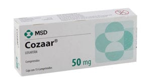 كوزار أقراص لعلاج ضغط الدم المرتفع Cozaar Tablets