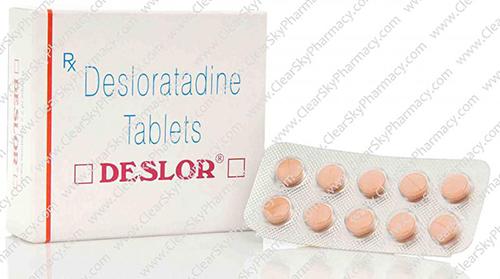 ديسلور أقراص لعلاج الحساسية والحكة الجلدية Deslor Tablets