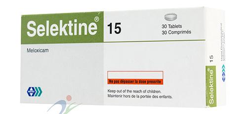 سيليكتين أقراص مسكن للالم ومضاد للروماتيزم Selektine Tablets