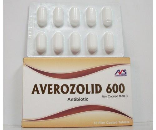 أفيروزوليد أقراص مضاد حيوي واسع المجال Averozolid Tablets