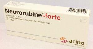 نيوروروبين فورت أقراص لعلاج التهاب الاعصاب Neurorubine Tablets